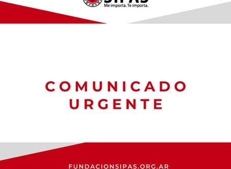 COMUNICADO URGENTE ANTE LOS CASOS POSITIVOS DE COVID EN SANTA VICTORIA ESTE