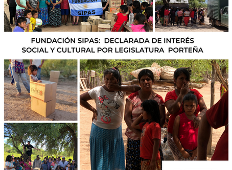 Fundación SIPAS, declarada de interés social y cultural por la Legislatura Porteña