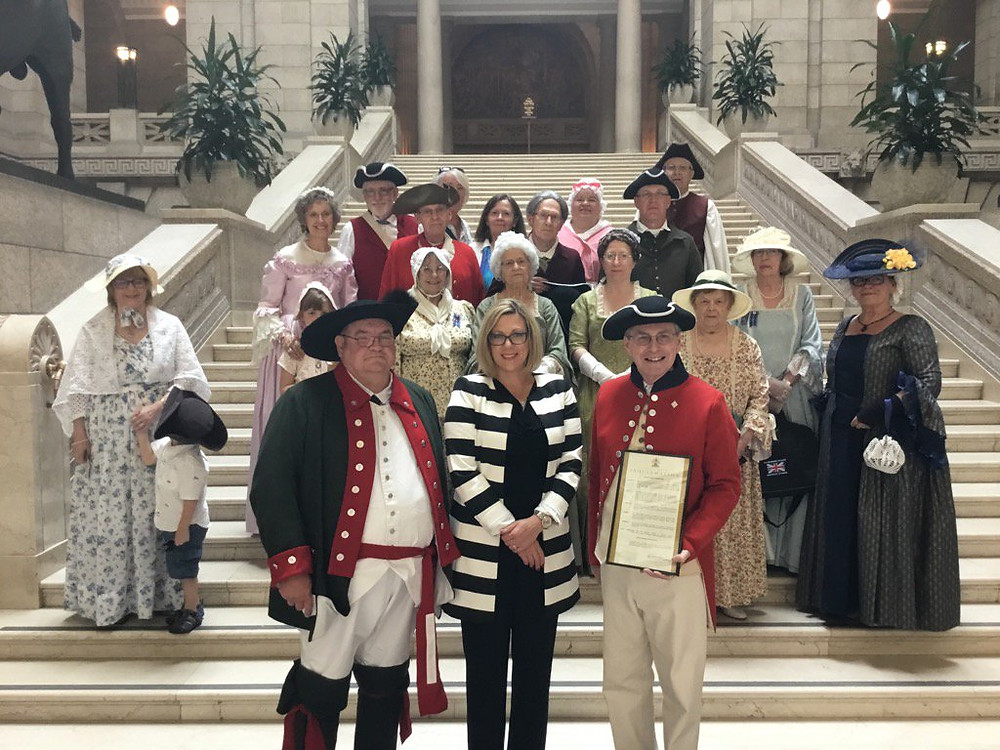 United Empire Loyalists of Manitoba with the Hon. Rochelle Squires