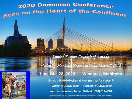 2020 Dominion Conference
