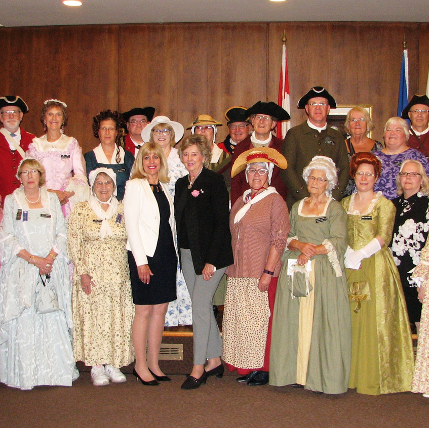 Manitoba Branch Members and Guests with Her Honour the Honourable Janice C. Filman, C.M., O.M., Lieutenant Governor of Manitoba