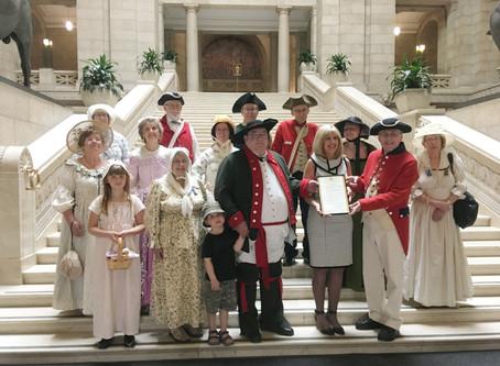 United Empire Loyalist Day in Manitoba