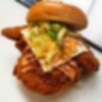 Crispy Fried Mid-West Pork-Loin Sandwich