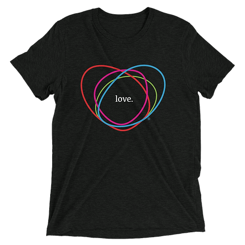 LOVECHAOTIC | Unisex Tri-Blend T-Shirt | Bella + Canvas 3413