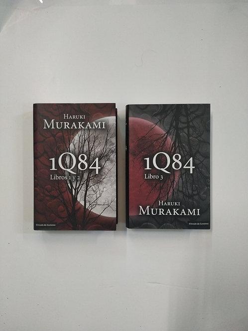 1Q84: libros 1, 2 y 3 (Haruki Murakami)
