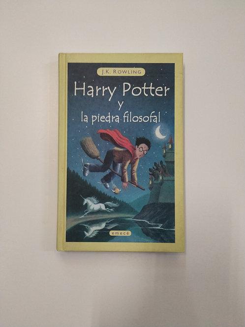 Harry Potter y la piedra filosofal (JK Rowling)