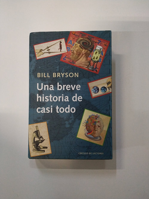 Una breve historia de casi todo (Bill Bryson)