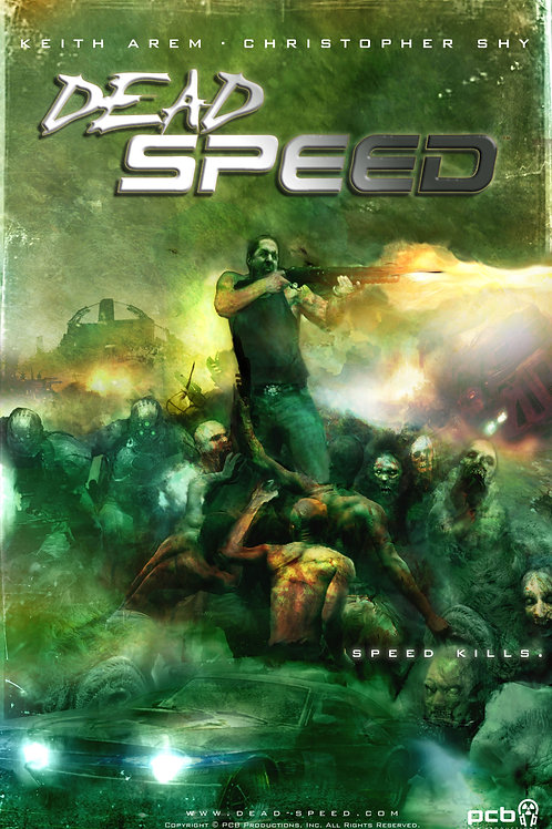Dead Speed Soft Cover Graphic Novel