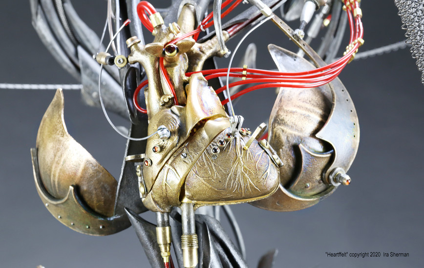 """Master Jeweler, Metalsmith, Sculptor: Mechanical savant Ira Sherman on his """"Chastity Couture"""""""