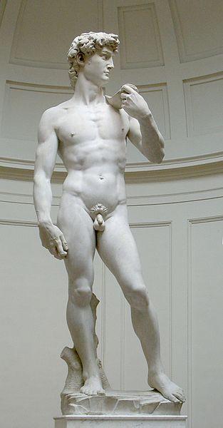 """David"" by Michelangelo Buonarroti"