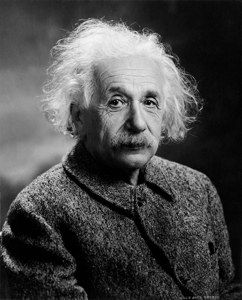 Cobots the Creators: Collaborative robots and the disruption of art | Portrait of Albert Einstein 1947