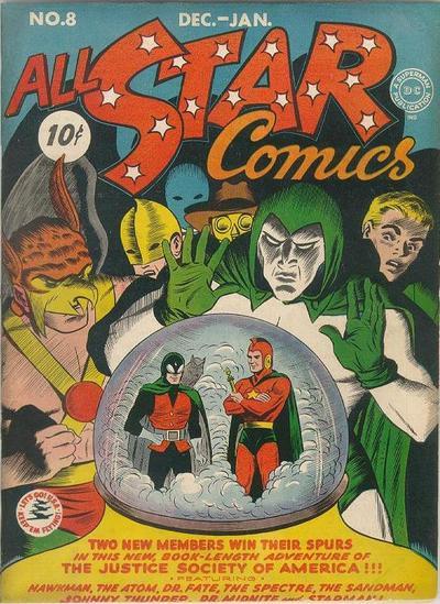 All Star Comics #8, (1941)