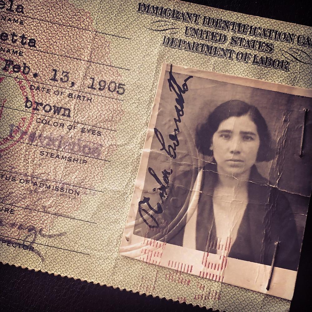 Picture of Mama, born 1905