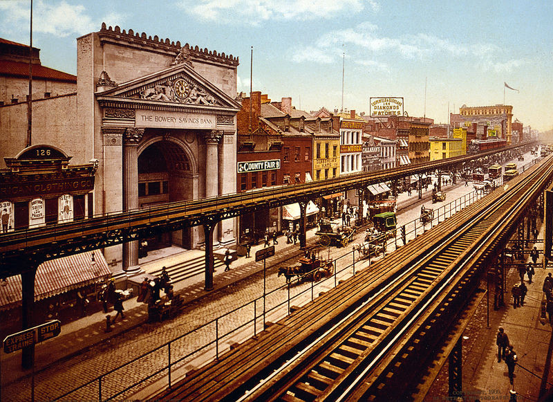 New York City Circa 1900: A photo essay | Detroit Publishing Co. via the United States Library of Congress's Prints and Photographs division under the digital ID cph.3g09600