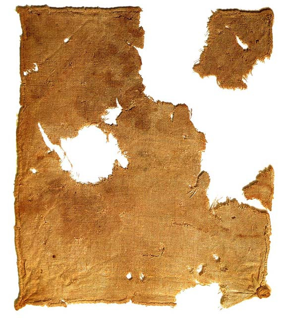 A Quick History of Dining Practices | Linen cloth recovered from Qumran Cave near the Dead Sea