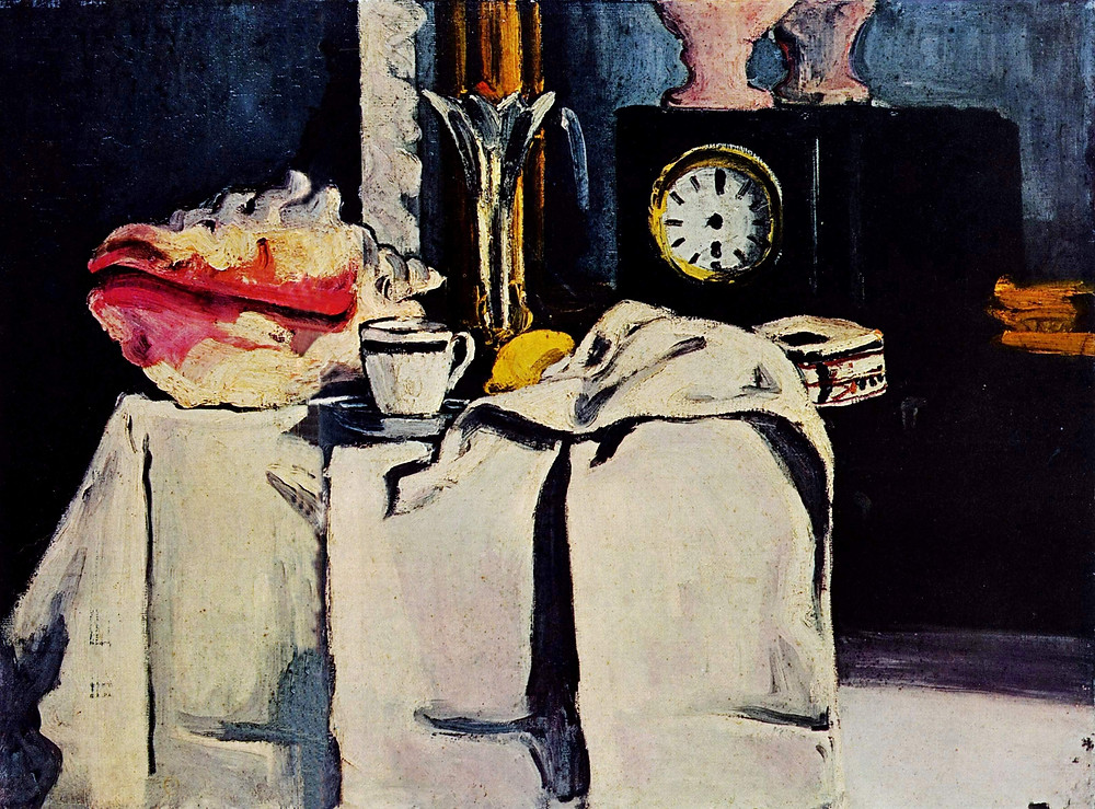 The Black Marble Clock (1869–1871) | Paul Cézanne: I could paint for a hundred years