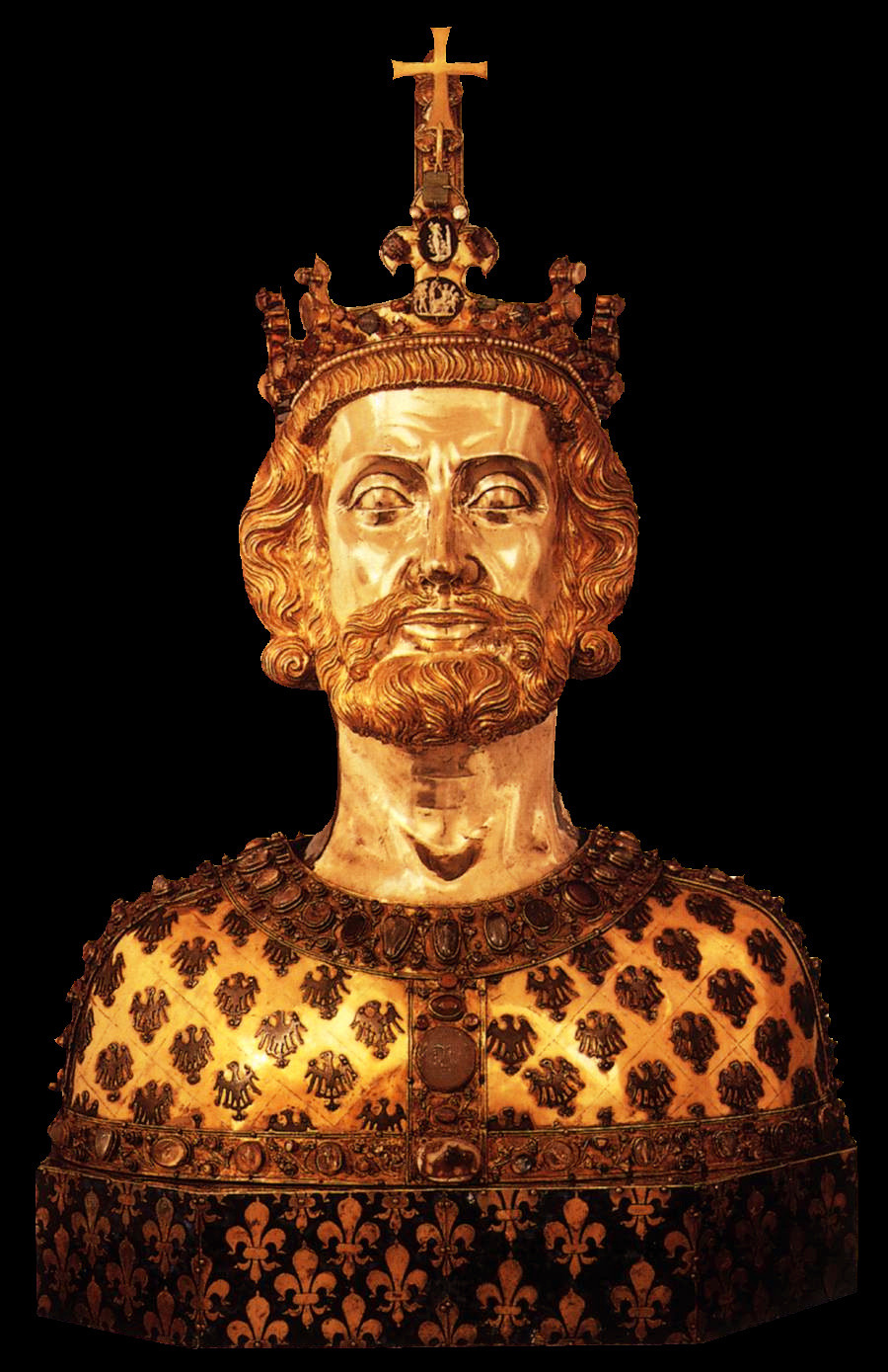 Bust of Charlemagne (1349)