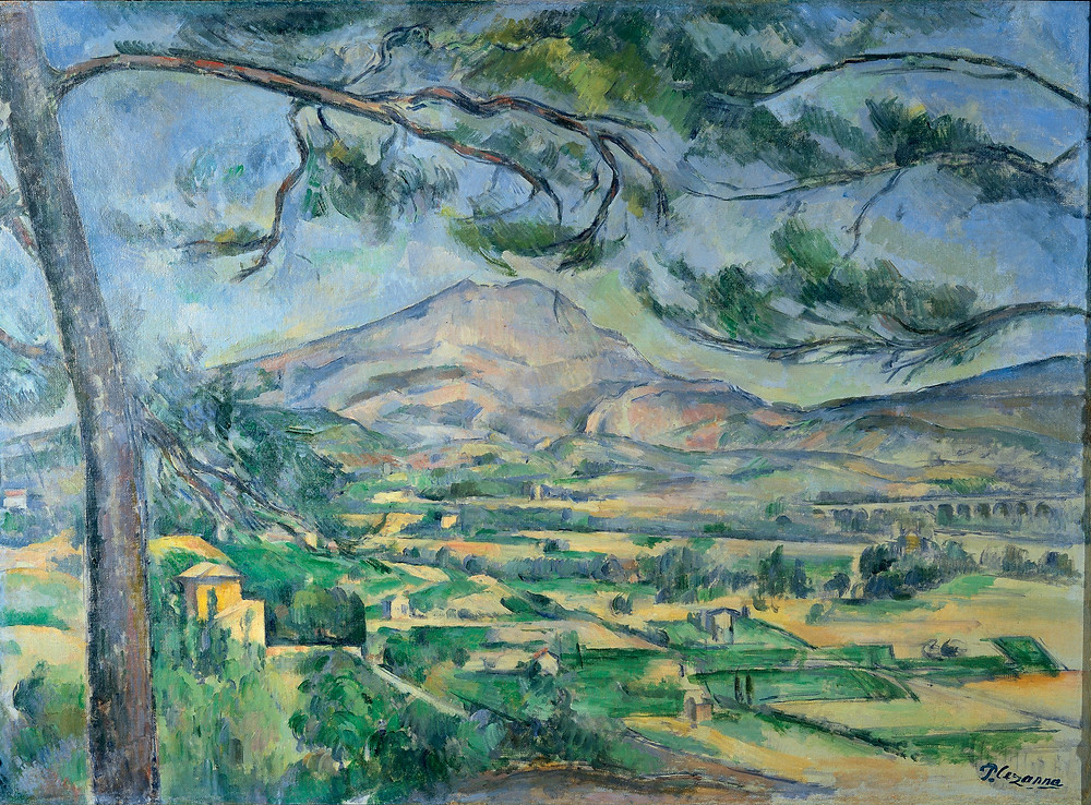 Mont Sainte-Victoire (1887) | Paul Cézanne: I could paint for a hundred years