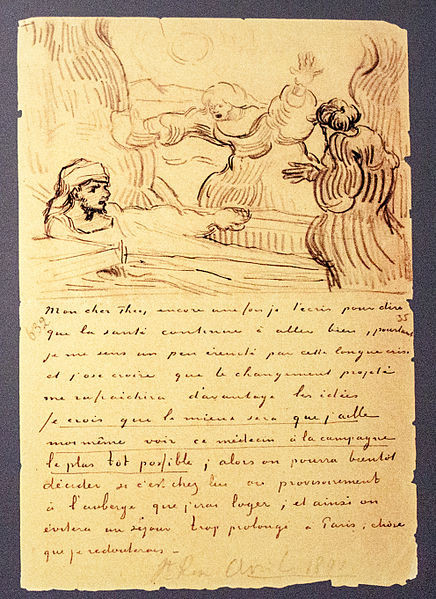 From Vincent van Gogh to Theo van Gogh | May 2, 1890