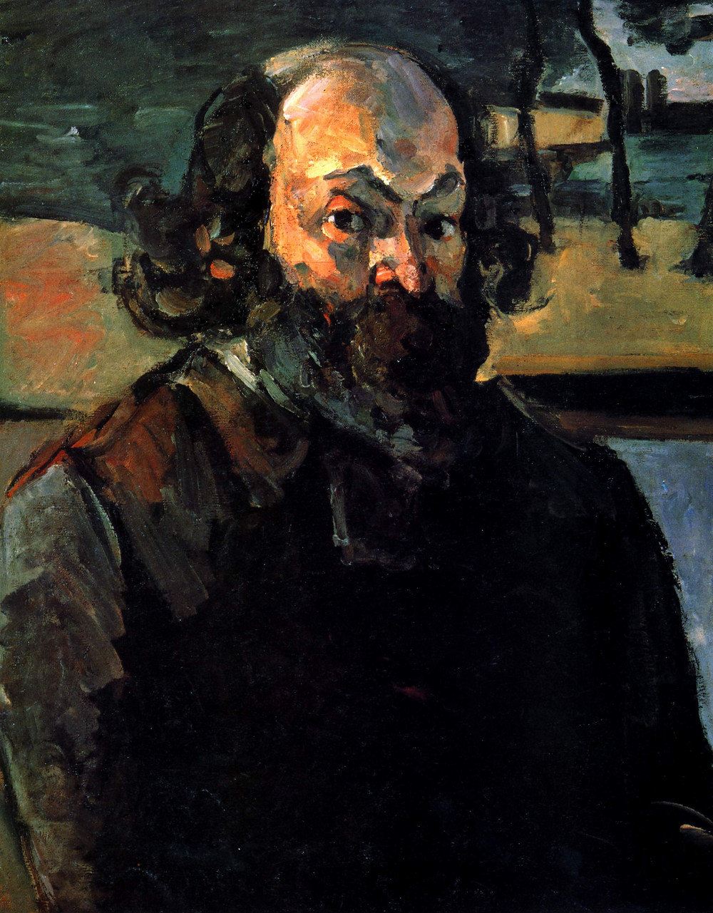 Self-portrait (1875) | Paul Cézanne: I could paint for a hundred years