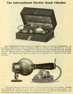 Dr. Joseph Granville's electromechanical vibrator | Evolution of Sex Toys