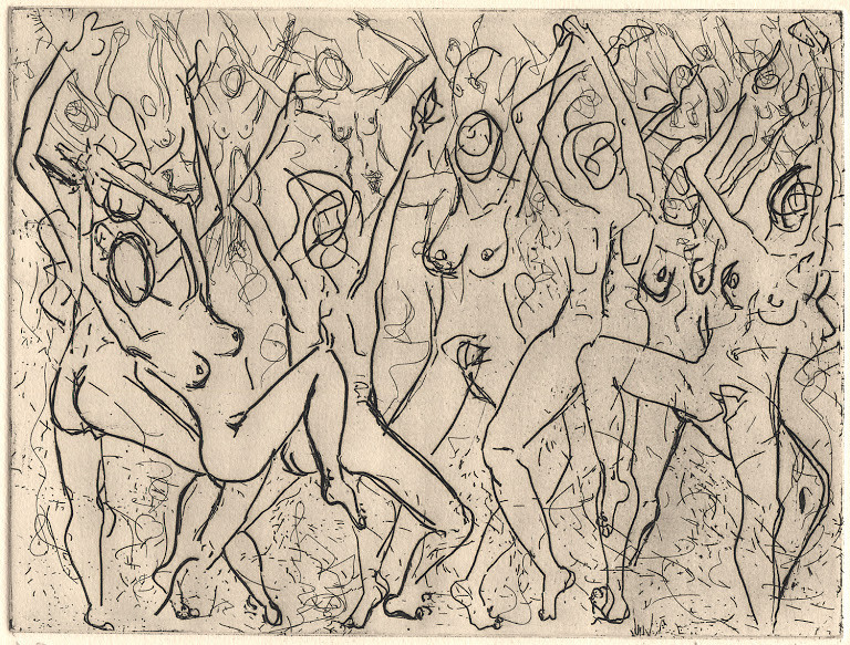 """""""The Dance"""" (1992) from The Sappho Series by Indira Cesarine 