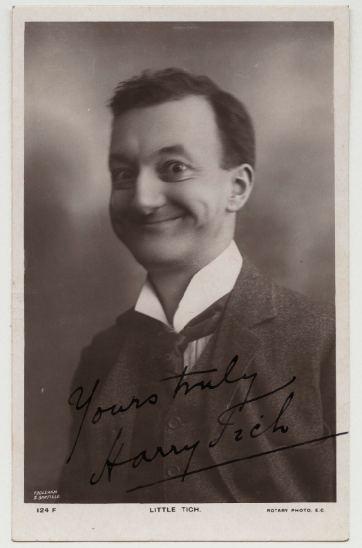 Harry Relph  by Foulsham & Banfield, published by Rotary Photographic Co Ltd postcard print, late 1900s-1910s © National Portrait Gallery, London