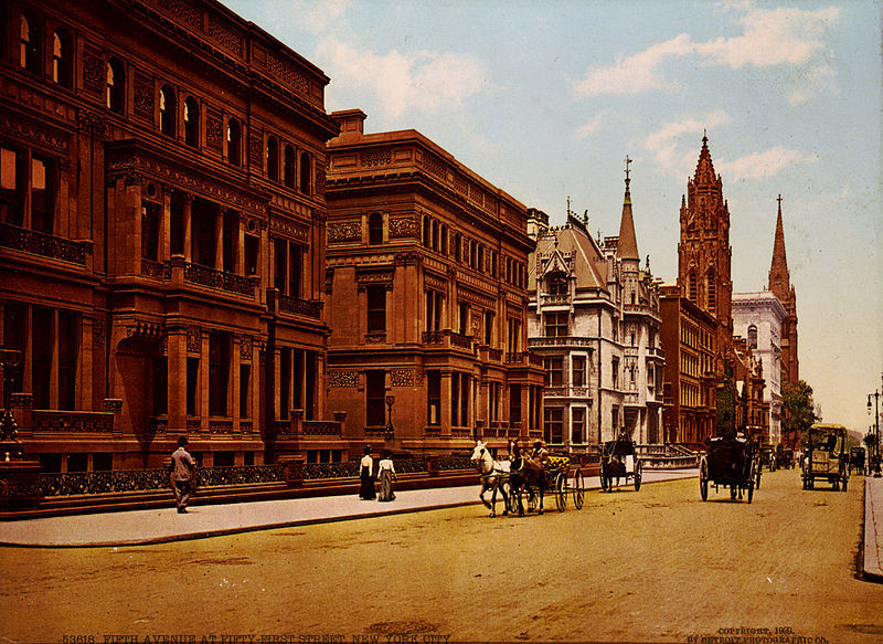 New York City Circa 1900: A photo essay | Detroit Publishing Co. via the United States Library of Congress's Prints and Photographs division under the digital ID cph.3g02651