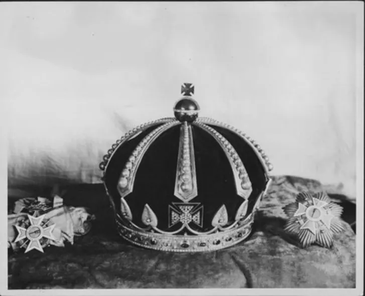 Crown of David Kalakaua | Image via Library of Congress