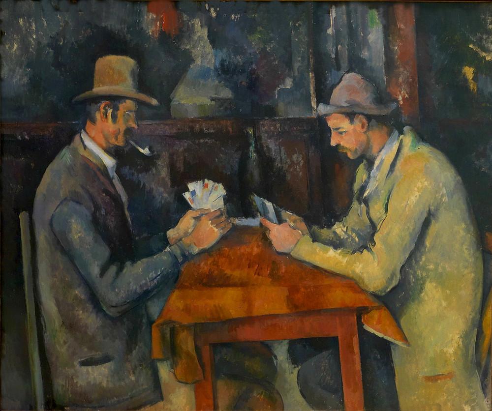 Les joueurs de cartes (1892–95) | Paul Cézanne: I could paint for a hundred years