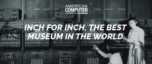 The American Computer & Robotics Museum: Interview with Executive Director, Eleanor Barker