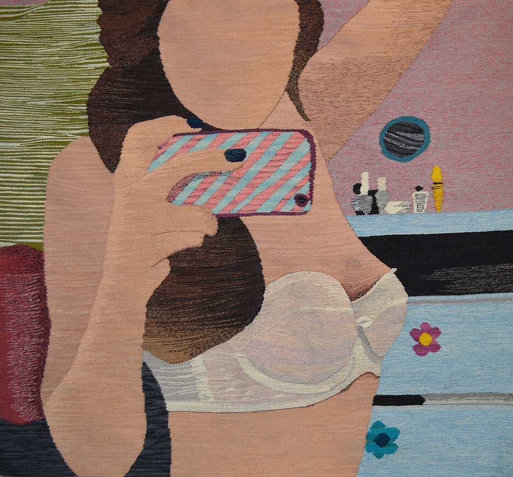 Nude 17 by Erin Riley (2014)   The New Nude