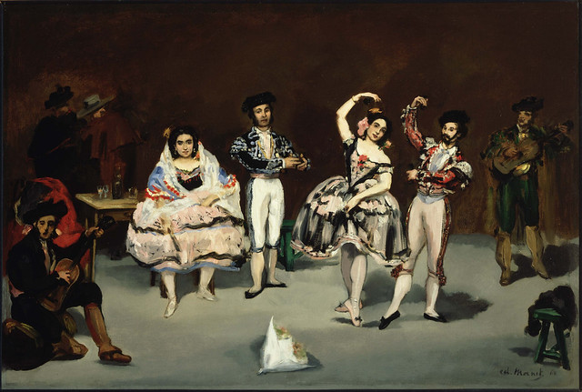 """The Spanish Ballet"" (1862) by Édouard Manet (1832 — 1883)"