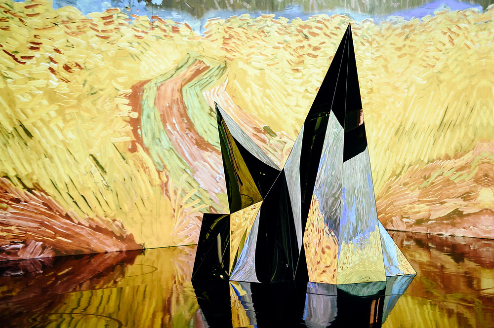 Original Immersive Van Gogh Exhibition in NYC | Image Credit Nina Westervelt