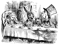 The Mad Tea Party _ Illustration by John