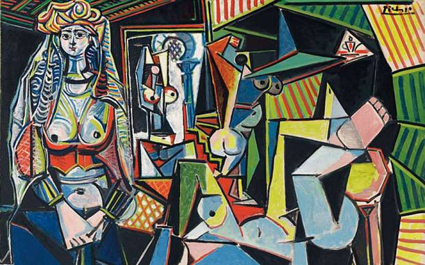 Les Femmes d'Alger by Picasso (1955)   The New Nude