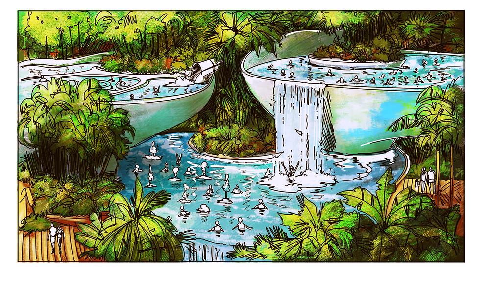 Bubble Pool via FORREC