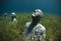 Anchor in Mexico by Jason deCaires Taylo