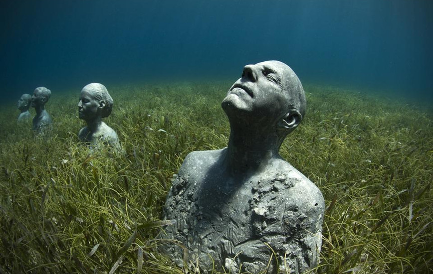 Jason deCaires Taylor On Underwater Sculpture, Scuba Diving & Saving the World's Coral: An interview