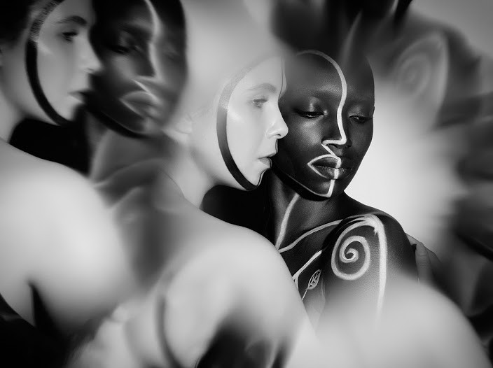 """""""Lyanna and Svala No 1"""" from The Labyrinth Series by Indira Cesarine"""
