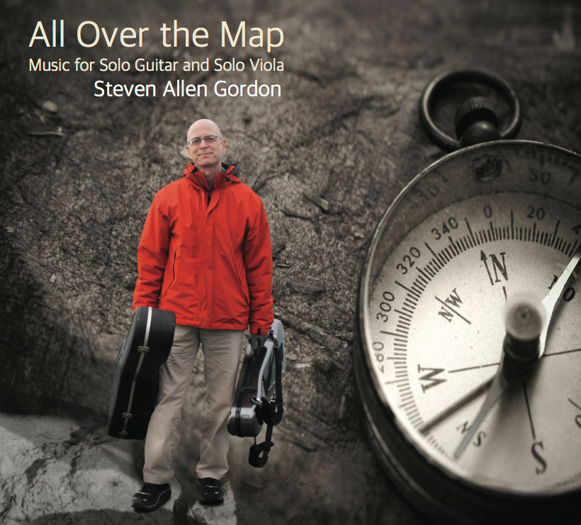Album Review: All Over the Map by Steven Allen Gordon