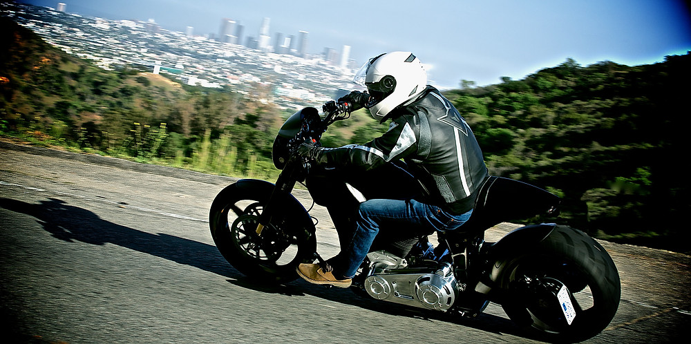 Gard Hollinger talks Art, Ambition, and Arch Motorcycle | Gard Hollinger in LA, courtesy of Arch Motorcycle