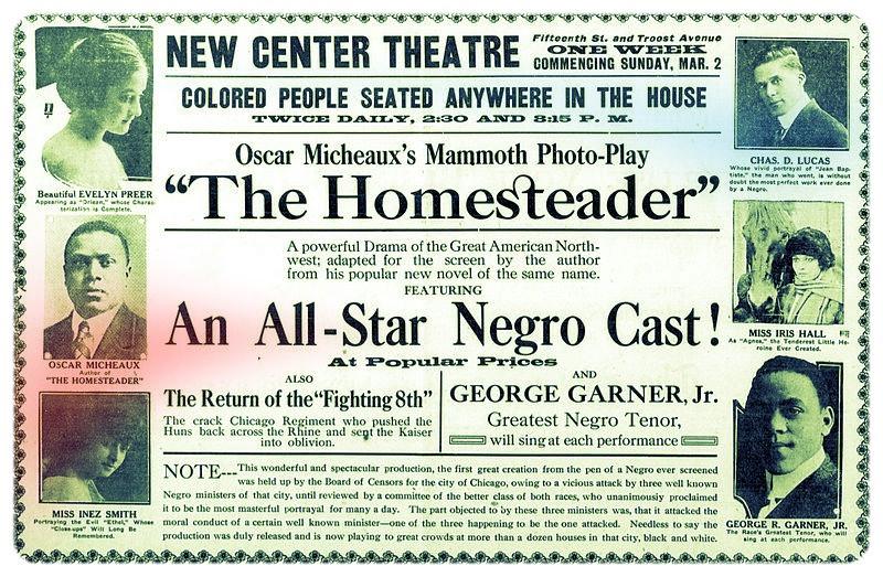 The Homesteader (1919) Newspaper Ad | The Rise of Black American Cinema