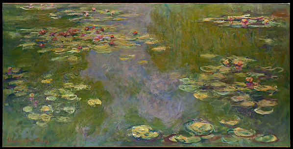 "Nature As Art's Greatest Model | ""Water Lilies"" by Claude Monet (1919)"
