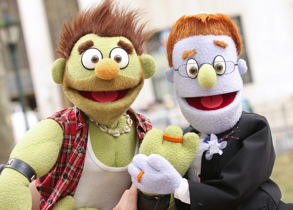 Puppets by Rick Lyon