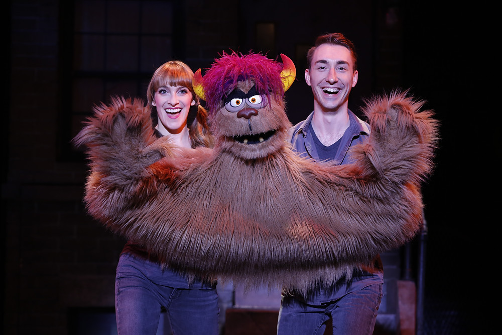 Lexy Fridell, Trekkie Monster, and Jason Jacoby | 2013 | Avenue Q
