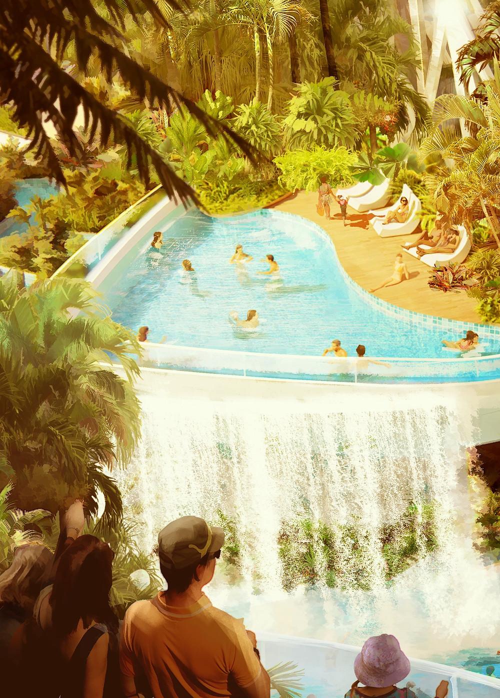 Millennial Water Attraction via FORREC