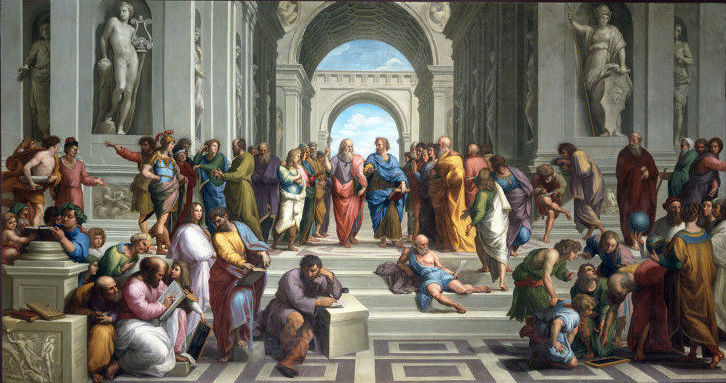 """From STEM to STEAM: How the arts are being reintegrated into schools   """"The School of Athens"""" (1509-1511) by Raffaello Sanzio"""