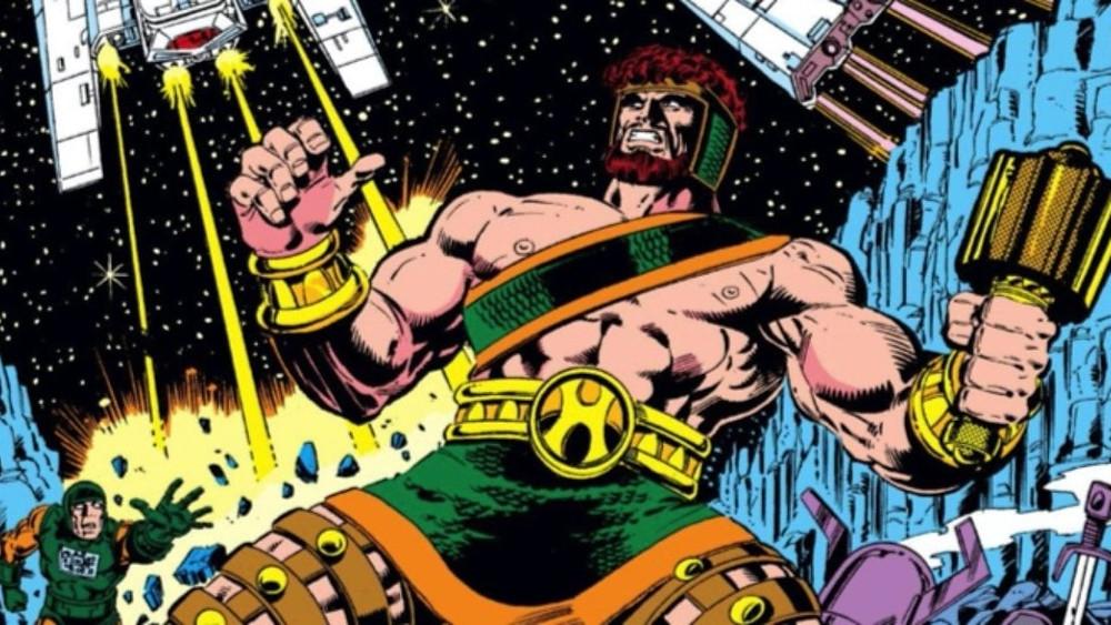 "Hercules and his ""golden"" mace"