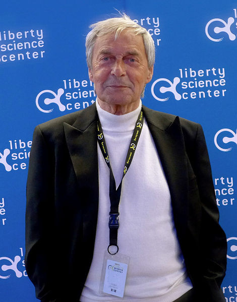 Speedcuber on the Thrill of the Solve and a Brief History of The Rubik's Cube | Image of Erno Rubik at the 2014 Liberty Science Center